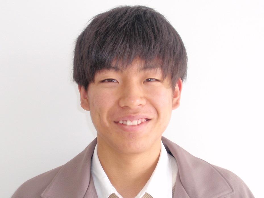 在校生(理学療法学科 第39期生) 鈴木 空さん 出身校:都城工業高校